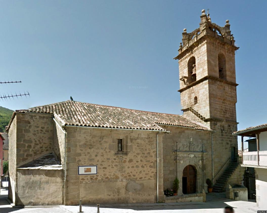 Iglesia de Baños de Montemayor